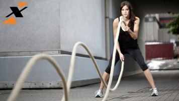 vježba s užadi
