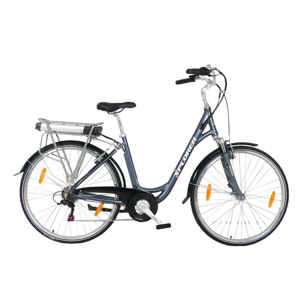 E-bike Xplorer Silver Line Lady 28""
