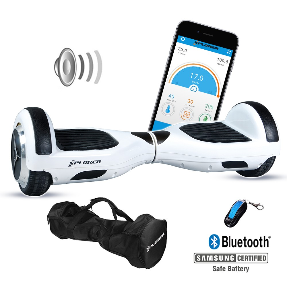 "Xplorer Hoverboard City white 6"" v2"