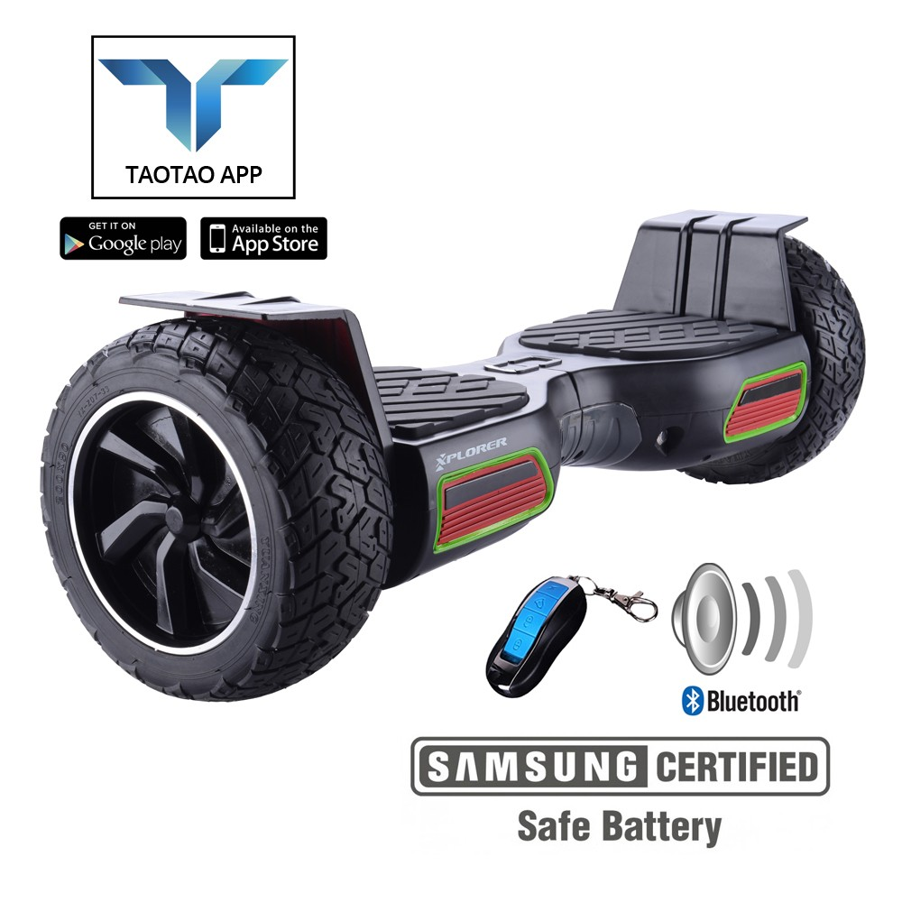 "Hoverboard Xplorer Hummer V2 Black 8.5"" (izložbeni model)"
