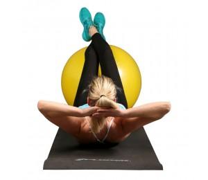 Pilates lopta 75cm (žuta) + pumpa Xplorer