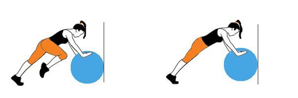 Vježbe za noge s pilates loptom