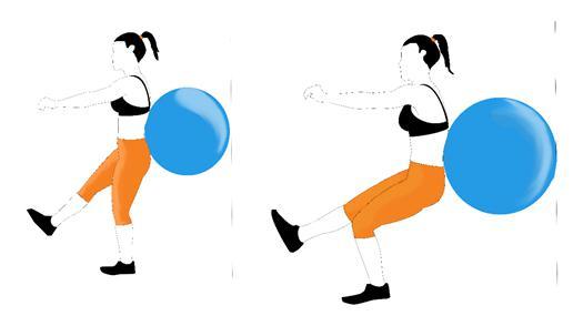Vježba čučanj na jednoj nozi