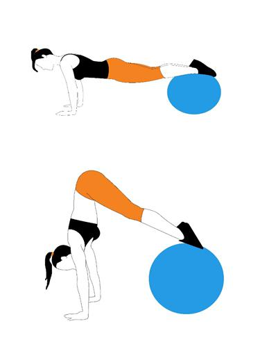 Peak - vježba za leđa, trbuh i noge